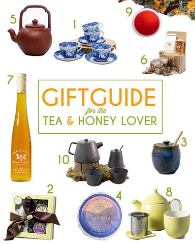 Gift Guide Tea & Honey Lover