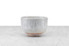 light grey matcha chawan tea bowl by local NY potter