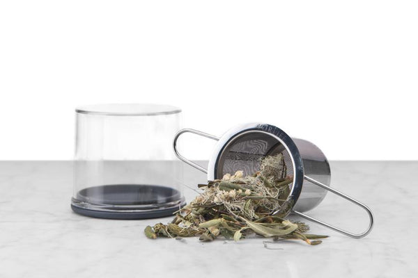 Folding Handle Tea Infuser w/ Case by FORLIFE