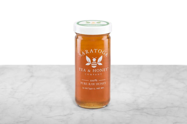 12oz Jar of Alfalfa Raw Honey