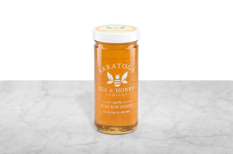 12oz Jar of Italian Acacia Raw Honey from Piedmont
