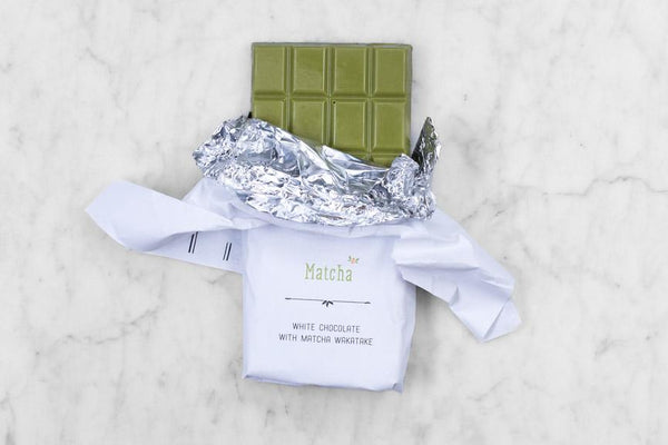 Matcha Wakatake White Chocolate Bar