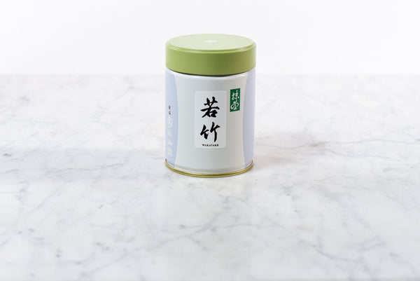 100g tin of premium matcha wakatake powder