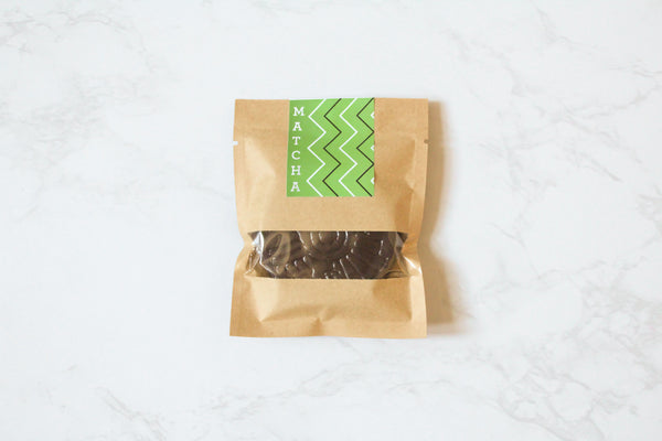 Primo Botanica Dark Chocolate Matcha Bliss Disks
