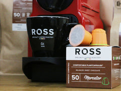 ROSS Coffee | Specialty koffie capsules, 100% plant based cups