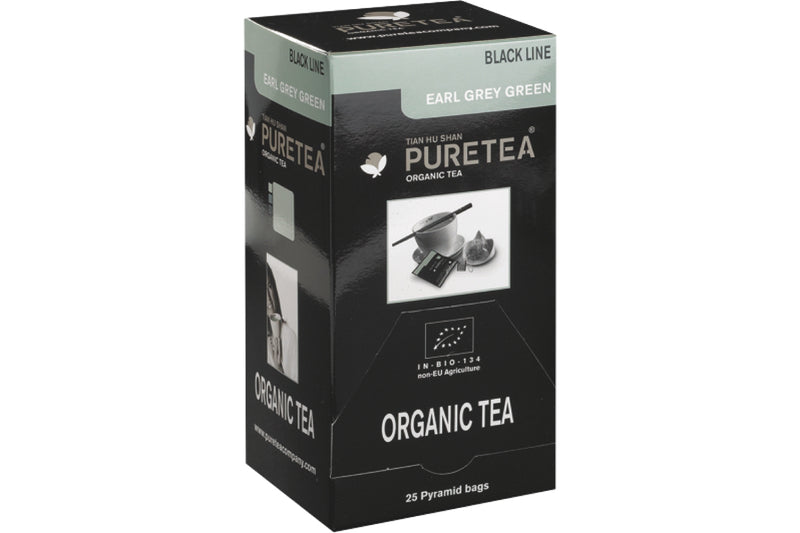Pure Tea Black Line Earl Grey Green