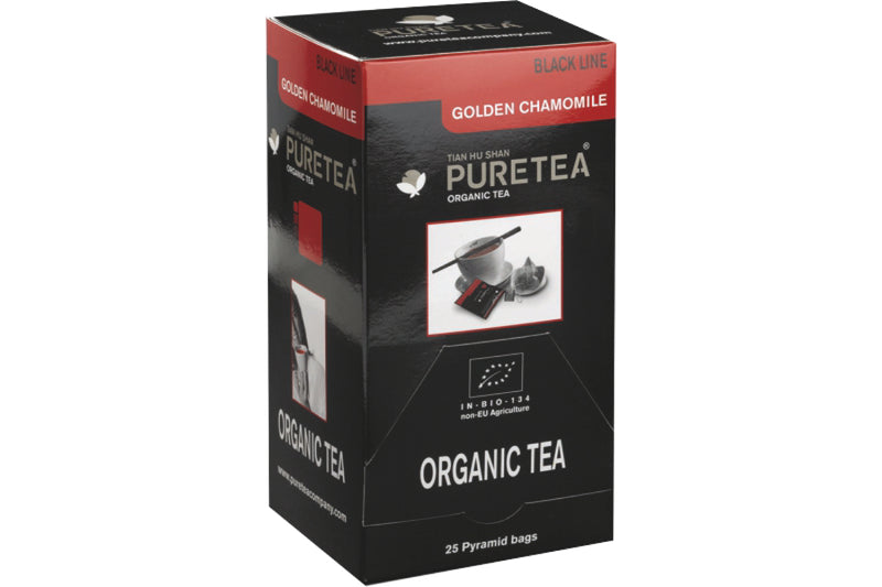 Pure Tea Black Line Golden Chamomile