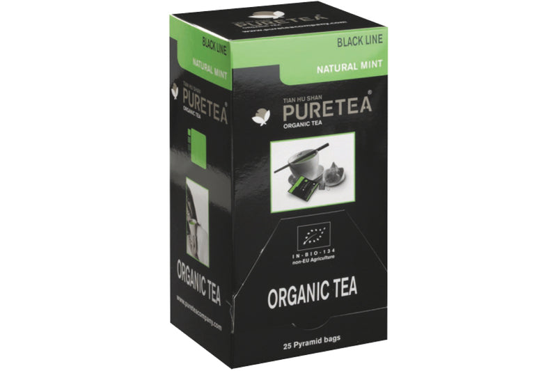 Pure Tea Black Natural Mint