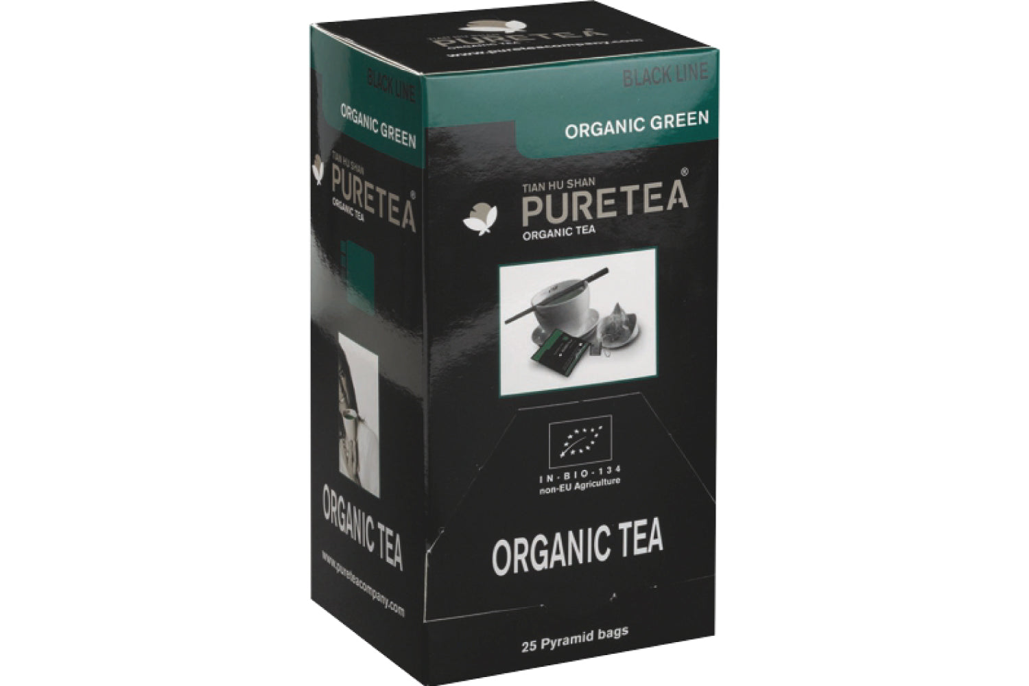 Pure Tea Black Organic Green