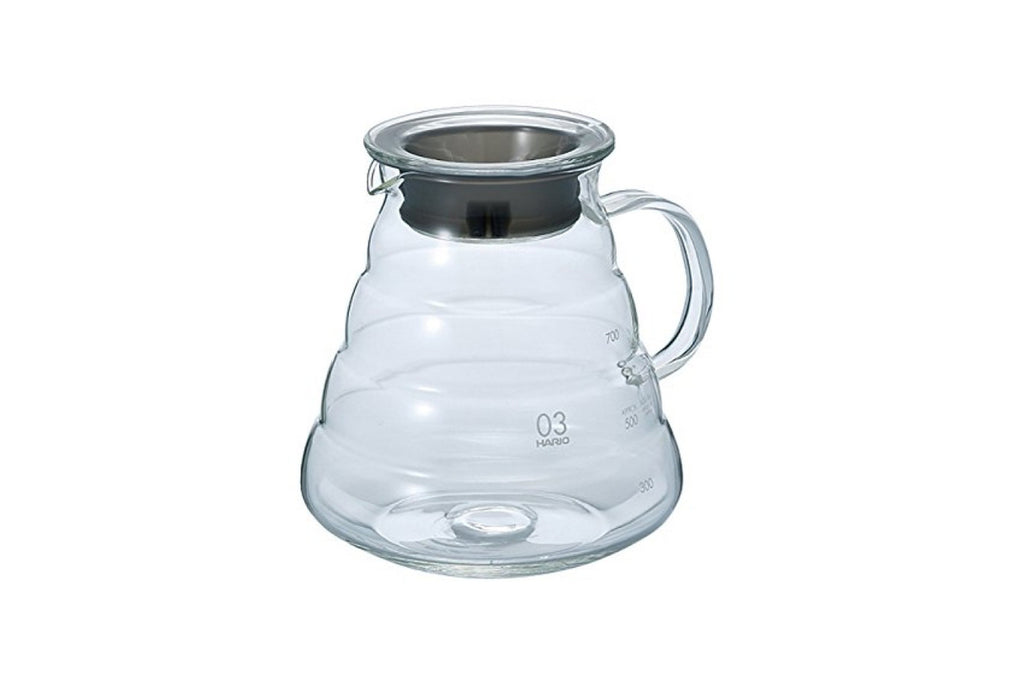 Hario V60 Range Server Clear 800ml - ROSS COFFEE & SPECIALTIES
