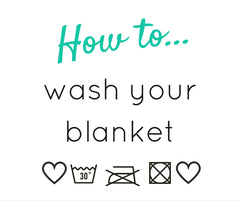 How to wash a blanket