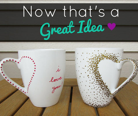 DIY Craft Mugs