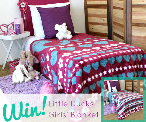 Win A Little Girls Blanket
