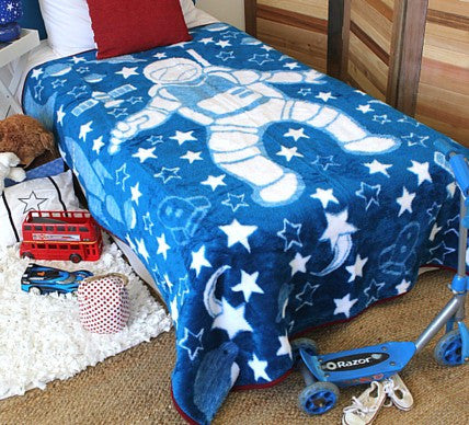 Astronaut Adventure Boys Blanket  -  Blankets and Weaves - 1