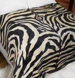 Zebra Luxury Blanket