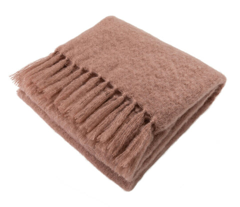 Natural Elegance Kid Mohair Blanket (Copper Nude)