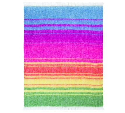 All the Earth Luxury Mohair Blanket  -  Blankets and Weaves - 1