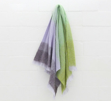 New Growth Luxury Mohair Blanket
