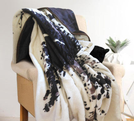Chocolate Nguni Luxury Blanket