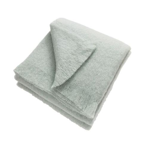 Song on the Radio Luxury Mohair Blanket (Night swimming)
