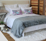 Plain Luxury Blanket Dove Grey