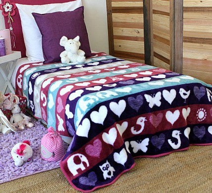 Child of the Sun Girls Blanket  -  Blankets and Weaves - 1