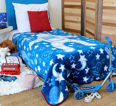 Boys Blanket Blue