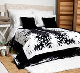 Black Nguni Luxury Blanket