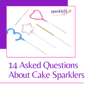 14 Asked Questions About Cake Sparklers