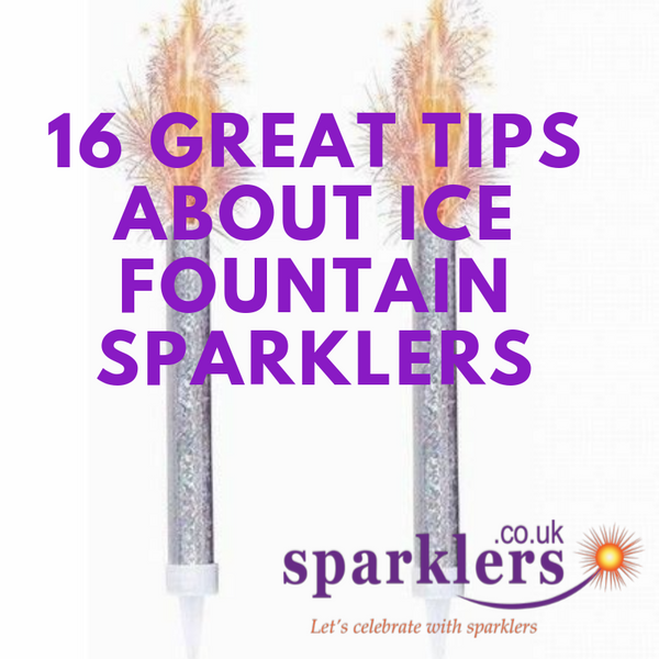 16 Great Tips About Ice Fountain Sparklers