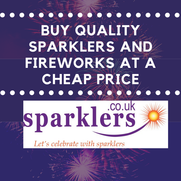 Buy quality sparklers and fireworks at a cheap price