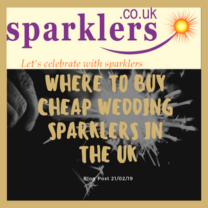 Where to buy cheap wedding sparklers in the UK