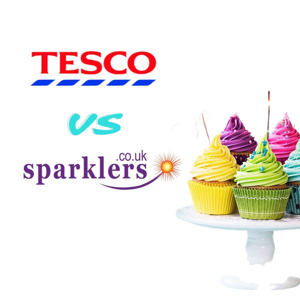 Tesco Sparklers vs Sparklers.co.uk