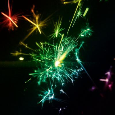 Coloured Effect Sparklers
