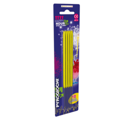 yellow-coated-sparklers