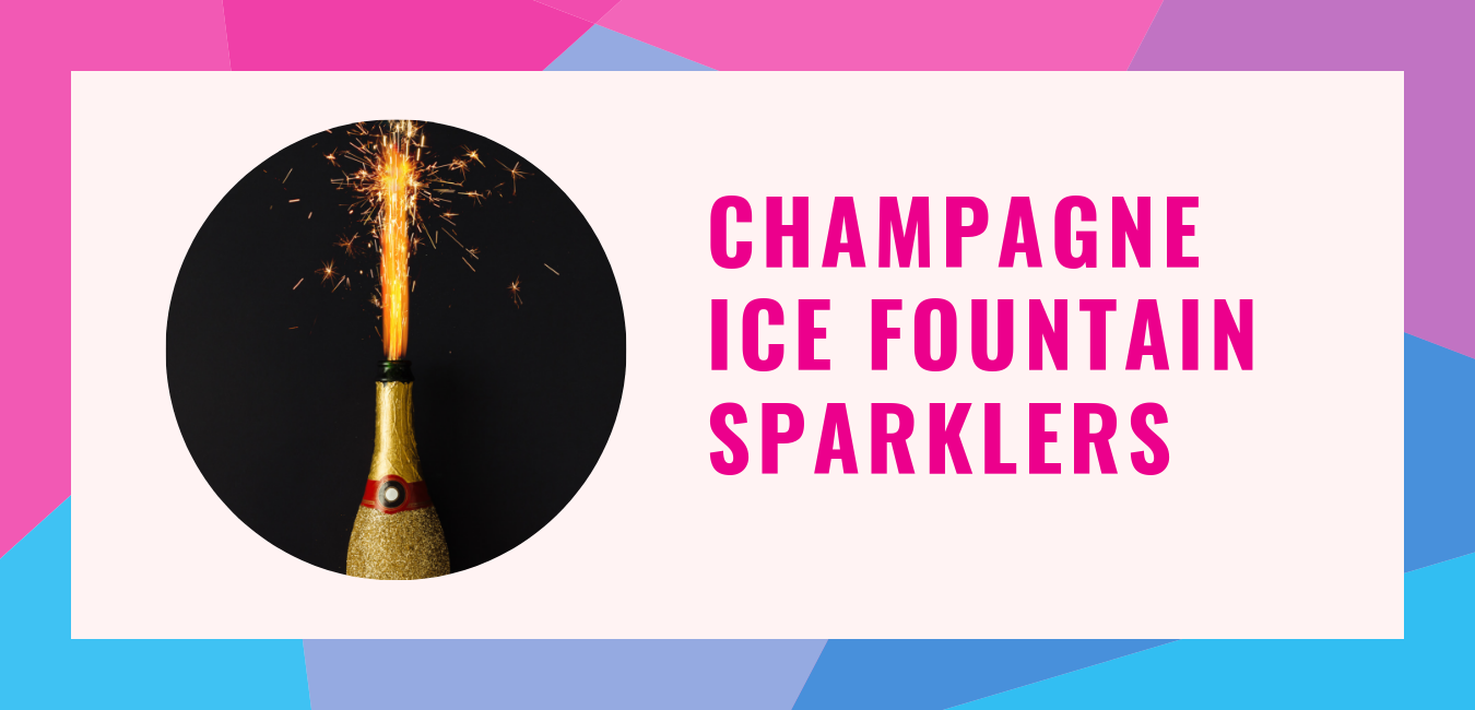 Champagne-Ice-Fountain-Sparklers