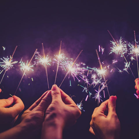 How many sparklers for wedding Image