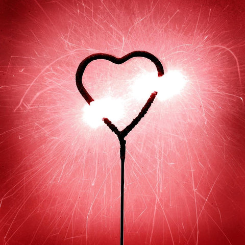 Heart Shaped Sparklers Image 2