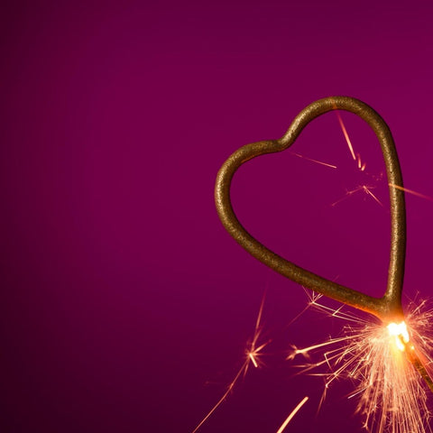 Heart Shaped Sparklers Image 3