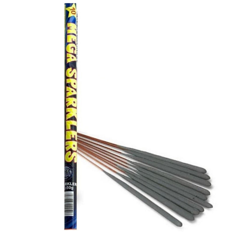 "16"" Inch Long Sparklers (PACK OF 50) In Tubes"