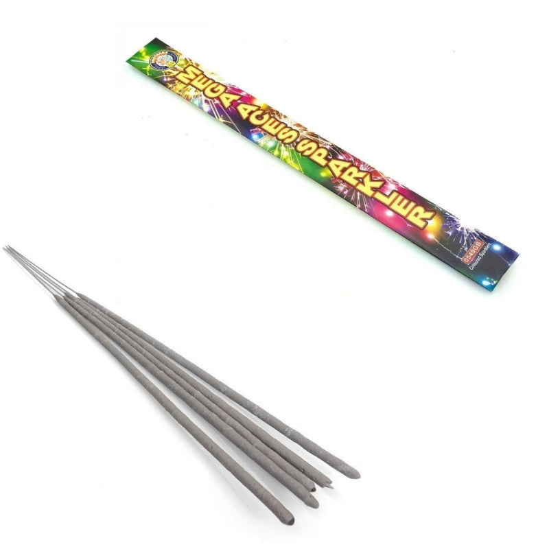 "Bulk Buy 18"" Inch Coloured Effect Extra Long Sparklers (PACK OF 50)"
