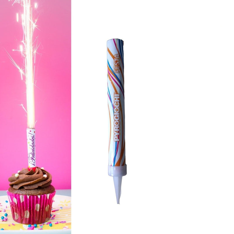 "Ice Fountain Sparklers 6"" Inch Indoor Use (PACK OF 2 / 3 / 4)"