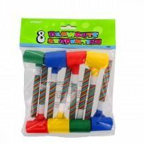 Blowout - Candy Cane Wrap Blowouts (Pack Of 8)