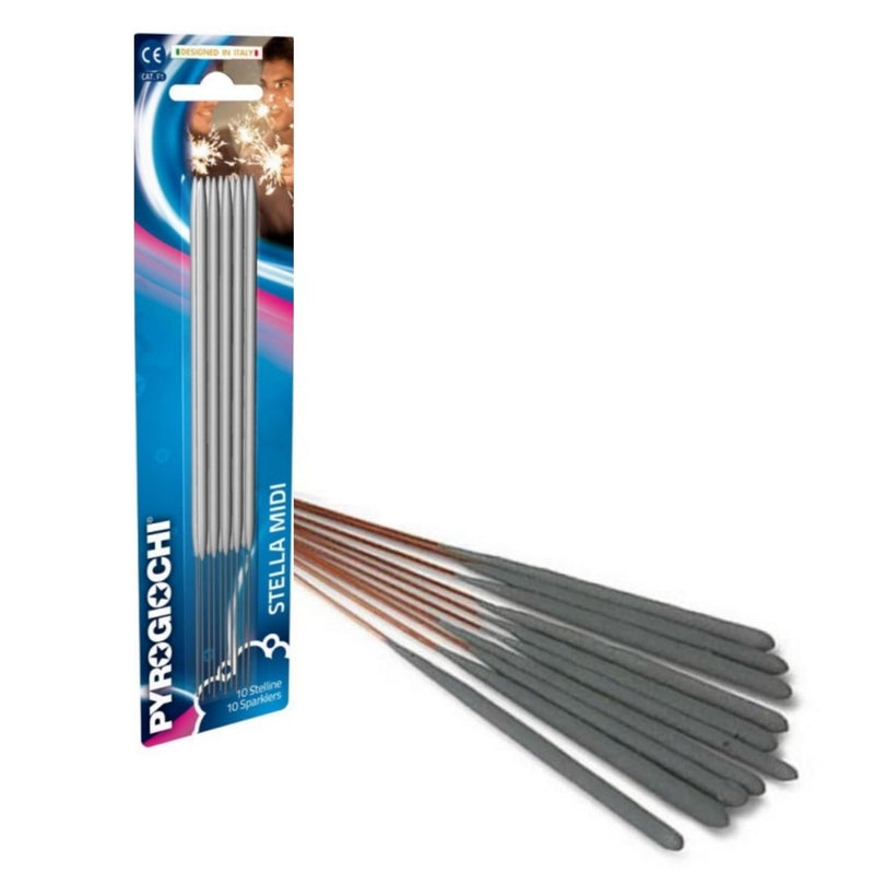 "Bulk Buy 7"" Inch Indoor Small Sparklers (PACK OF 100)"