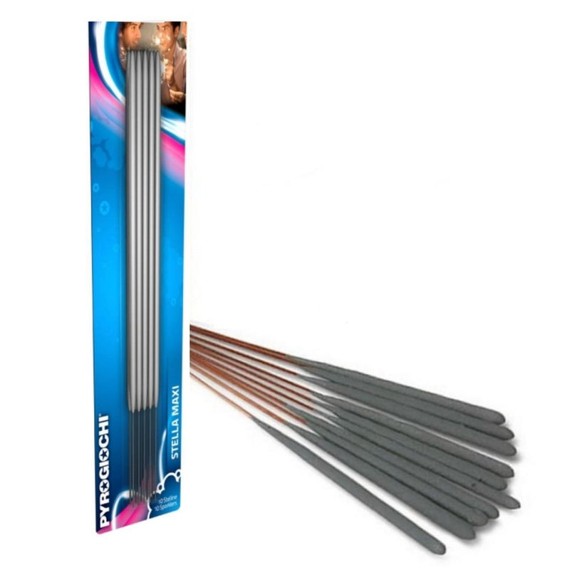 "Bulk Buy 10"" Inch Indoor Regular Sparklers (PACK OF 50)"