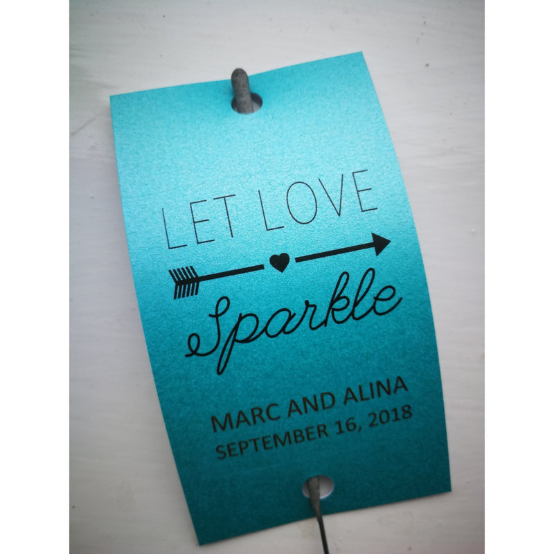 Sparkler Tags - Sparkler Tags With FREE Gold Effect Sparklers