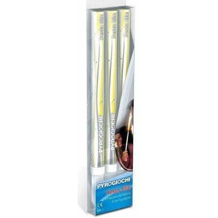 "Sparklers - Hand Held Ice Fountain Sparklers 7"" Inch Indoor Use (PACK OF 3)"