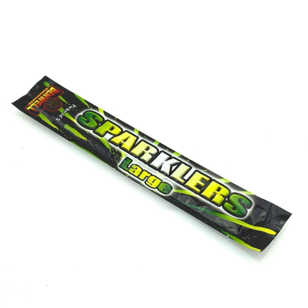 "Sparklers - Pack Of 5 Benwell - 10"" Inch Regular Sparklers"