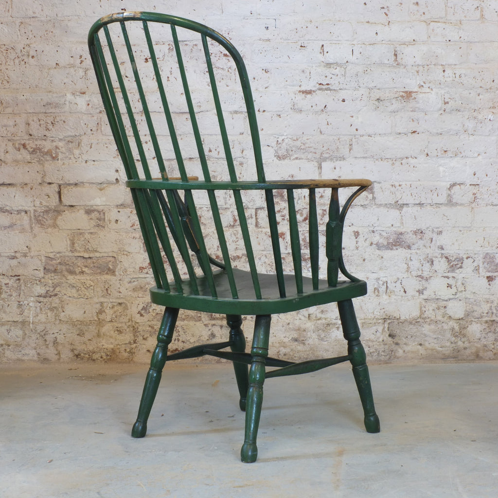 18th Century Hoop Back West Country Windsor Chair-Antique Seating-KONTRAST