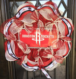 Houston Rockets Wreath